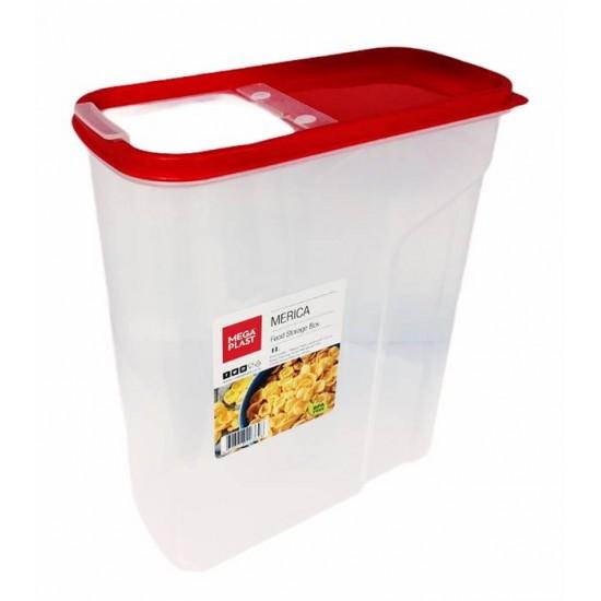 Кутия за съхранение MERICA 4L  26х9х20см MP, Кутии за храна