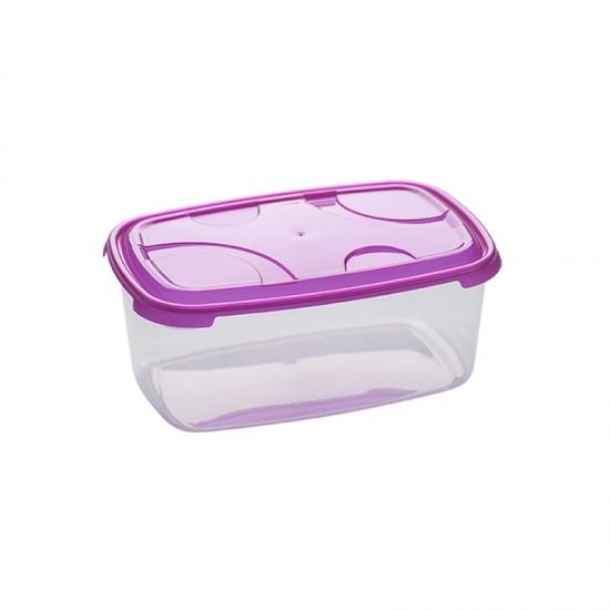 Кутия за храна пвц Frigo Plus DRN 1,6л, Кутии за храна